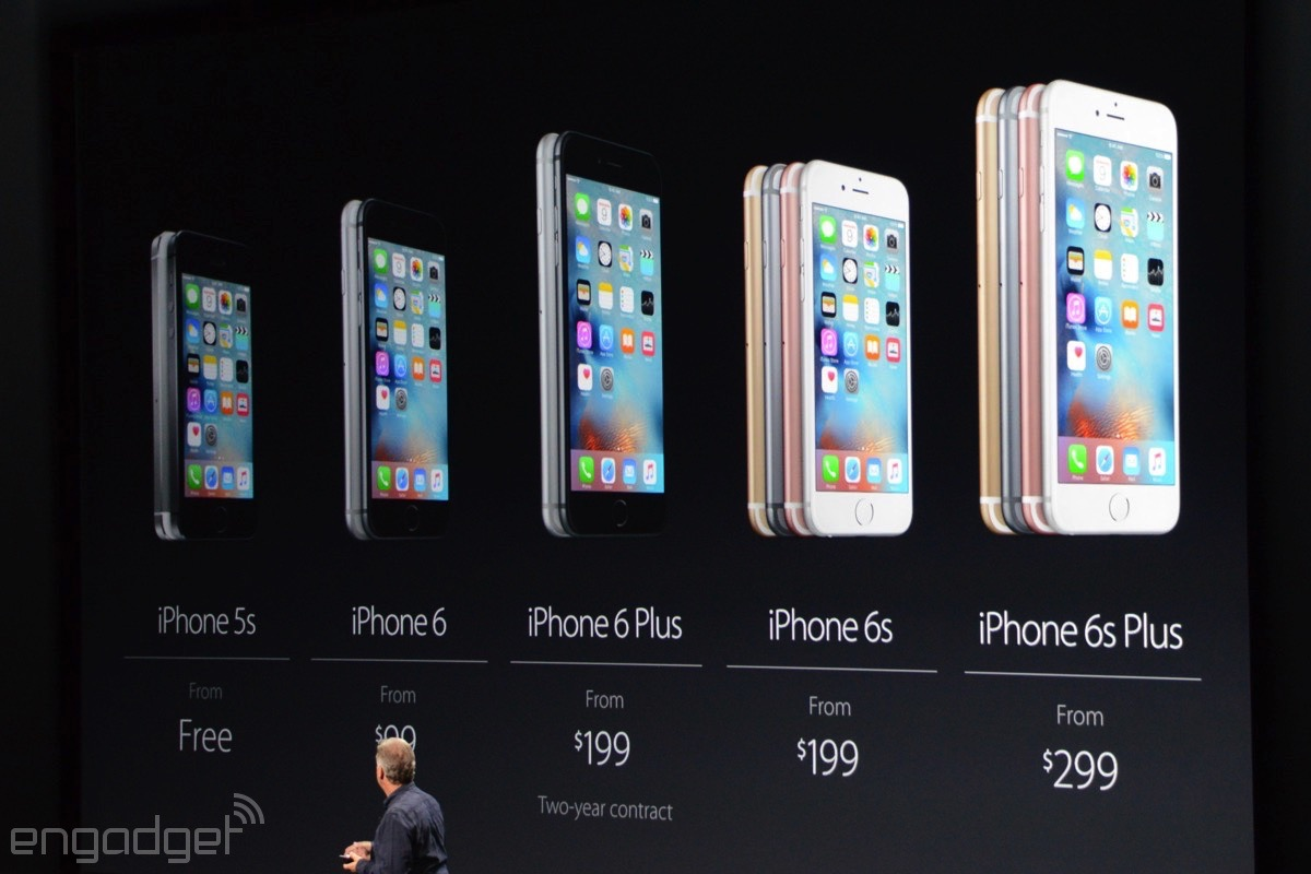 Apple's new iPhone pricing