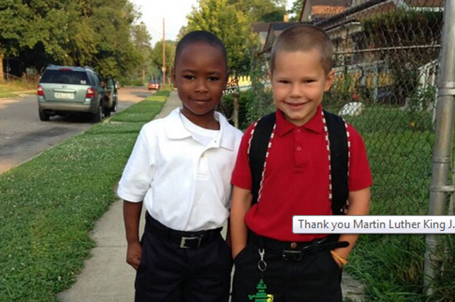 Six-year-old's powerful message about Dr Martin Luther King Jr goes viral
