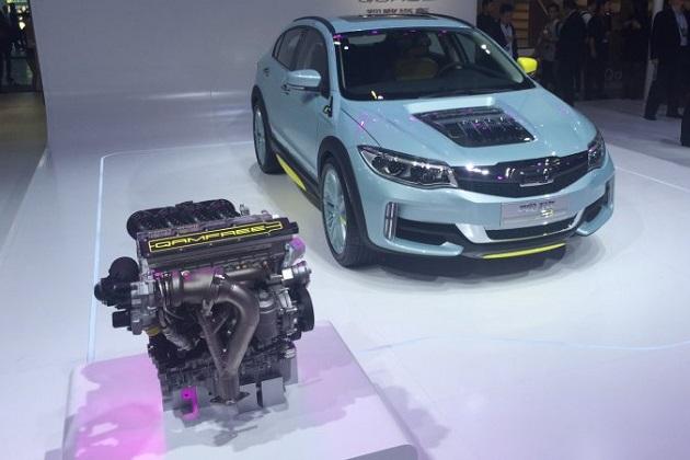 ケーニグセグの関連会社が開発したカムレス・エンジン技術、中国車に搭載されて北京モーターショーで公開