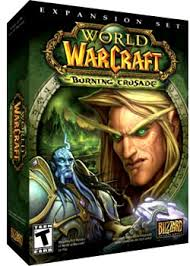 the burning crusade game box