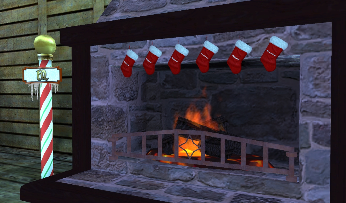 EQ Frostfell HousingItems The holidays have arrived in SOEs MMORPGs