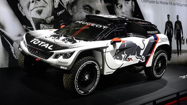 プジョー、最新のオフロード・ラリー用マシン「3008 DKR」を公開