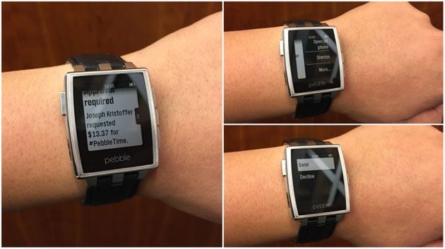 Any app that works with Android Wear now works on your Pebble