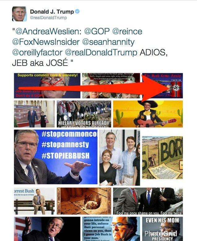 Donald Trump tweet Jeb Bush