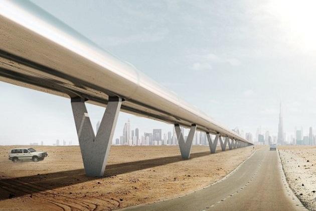 ハイパーループ・ワン社、ドバイ-アブダビ間の超高速輸送システム実現に向けて計画を発表