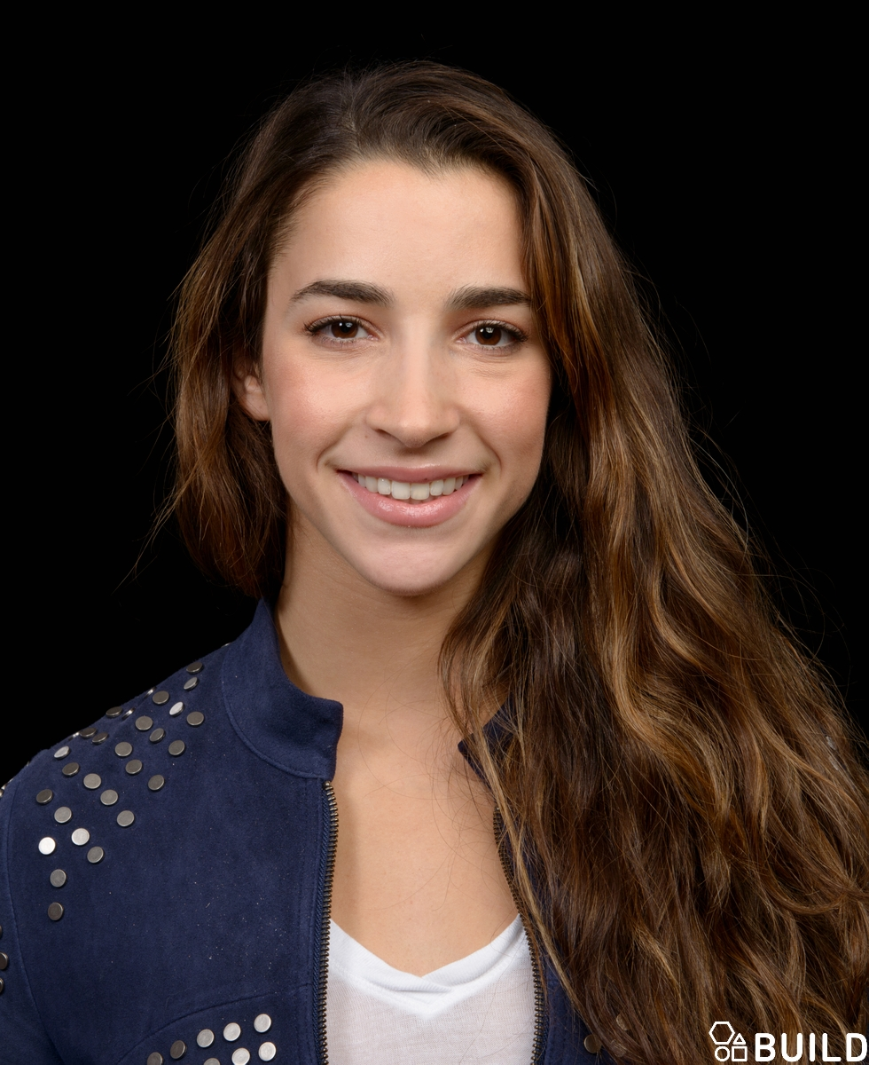 Aly Raisman visits AOL Hq for Build on October 24, 2016 in New York. Photos by Noam Galai