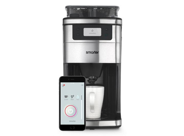 Smart Home Coffee Maker : Smart coffee maker brews your next cup right when you get home
