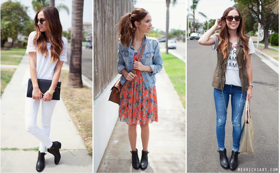 Ankle boots: 3 ways to wear them this summer
