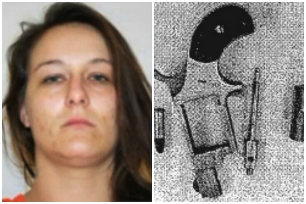 biggest objects smuggled in vaginas, drug smuggling, christie harris mini revolver
