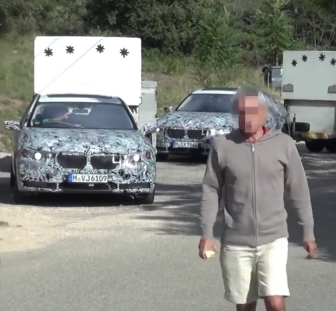 aggressiv, agro, ärger, breaking, Erlkönig erlkönigjäger, film, Lamborghini, road rage, spy shot, video, wütend, wut, BMW 7er BMW Erlkönig, BMW 7er Erlkönig, syp shot,  BMW 7 Series spy shot, Video