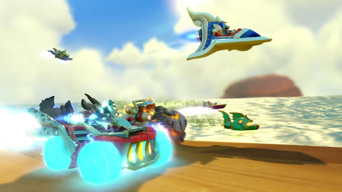 Playdate: Racing into action with 'Skylanders Superchargers'
