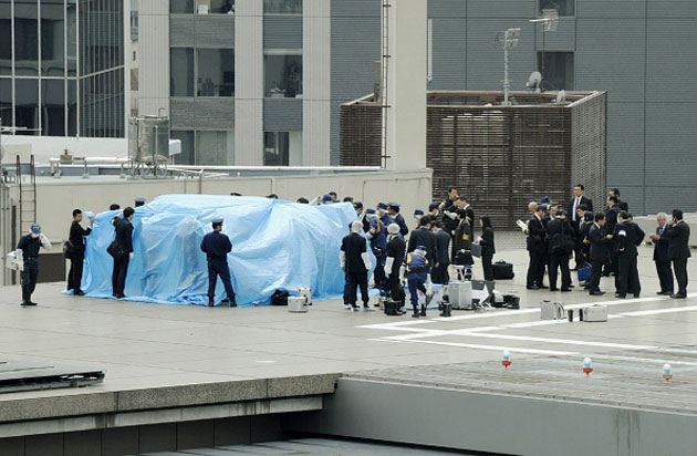A radioactive drone landed on the Japanese Prime Minister's office
