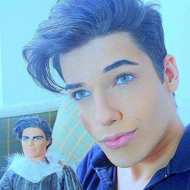 Meet the new human ken doll celso santebanes cambio