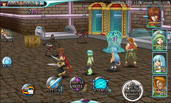 Alphadia Genesis is an awesome mobile RPG to play on the Nvidia Shield Tablet