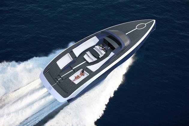 ブガッティ、超リッチな顧客向けのカーボンファイバー製ヨットを発表