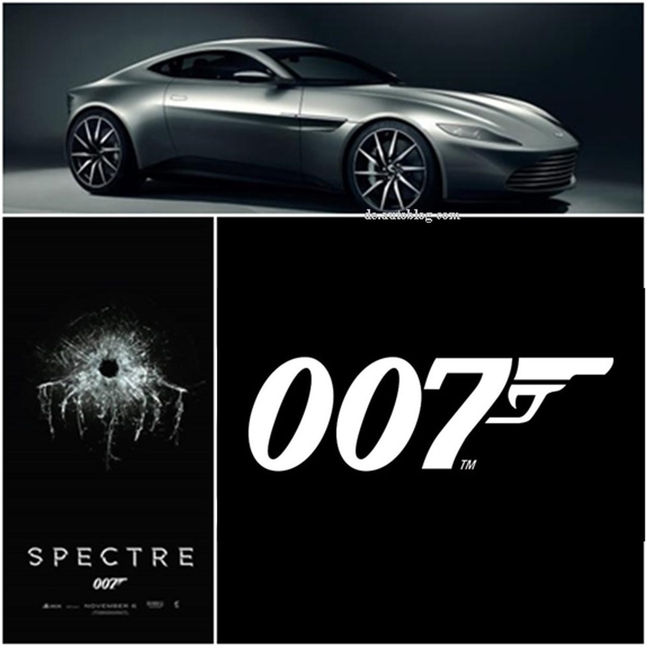James Bond 24 - built for Bond - Aston Martin DB10