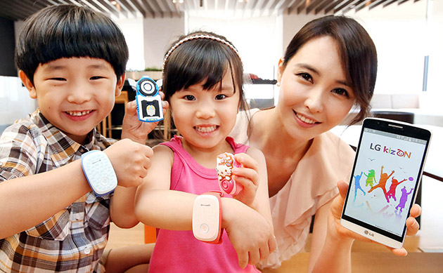 LG's new wearable is a child tracker that lets parents listen in