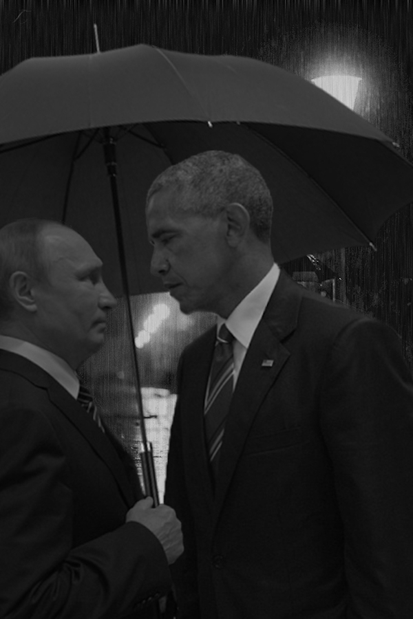 The Obama And Putin Death Stare Is Too Perfect Not To Photoshop