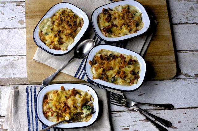 Broccoli and chorizo mac and cheese recipe