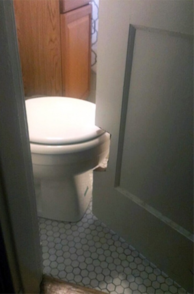 horrible designs, bad design ideas, designs that were horrible misfires, toilet hole in door