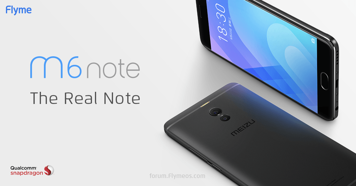El Meizu M6 Note captará tu atención con un Snapdragon 625, doble cámara y sus 165 dólares
