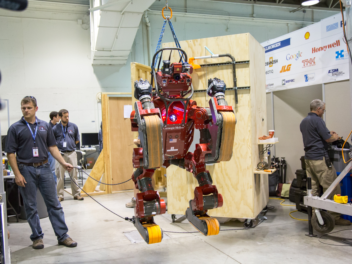 The bots that bucked the humanoid trend at DARPA's challenge