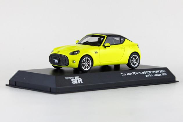 京商が「トヨタ S-FR」のミニカーを東京モーターショー会場で限定販売!