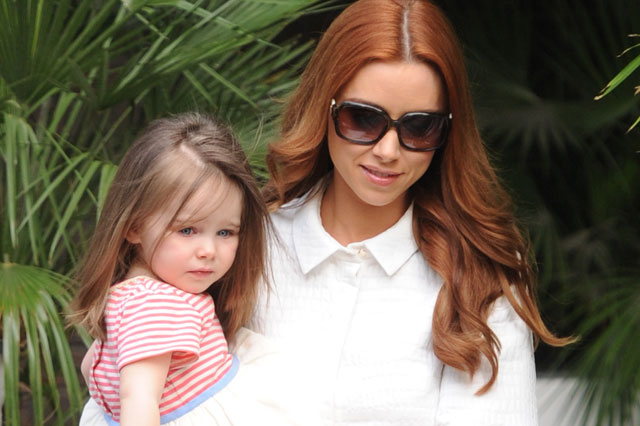 Una Healy and daughter Aoife Belle