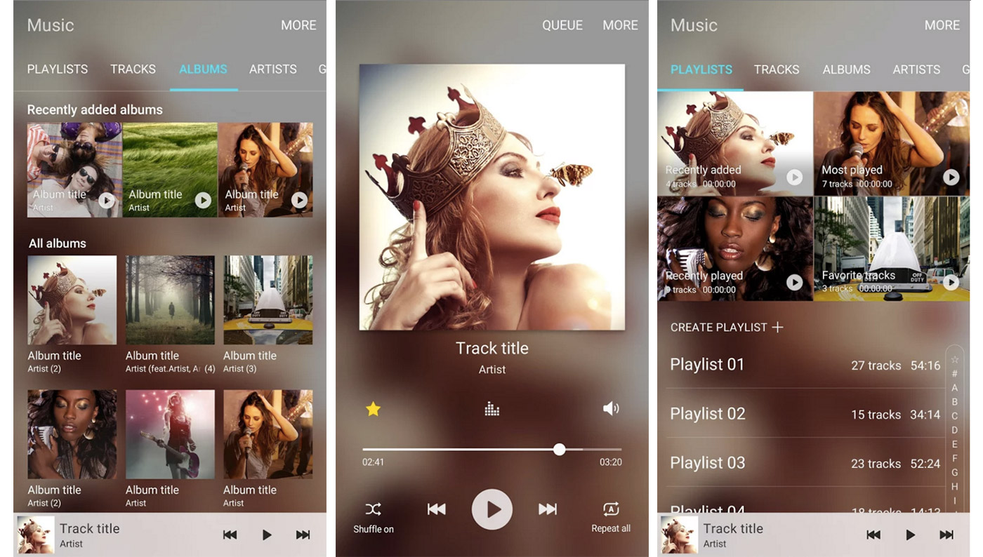 Samsung has a new music app for Galaxy users to test