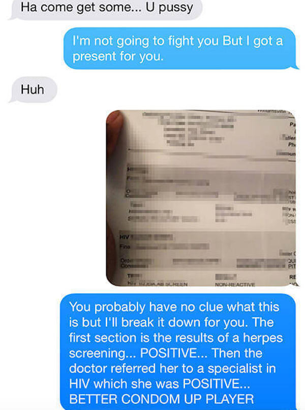 Guy Mocks Girlfriend's Ex-Husband, Karma Quickly Takes Care Of Him