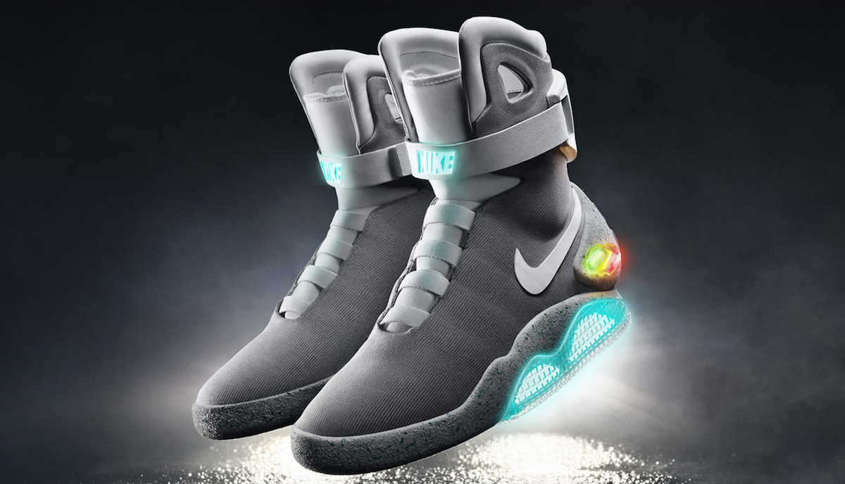 Nike (Back To The Future) XII - Magazine cover