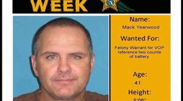 Florida man uses own wanted poster as new Facebook profile pic