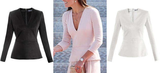 Kate Middleton's pink McQueen top