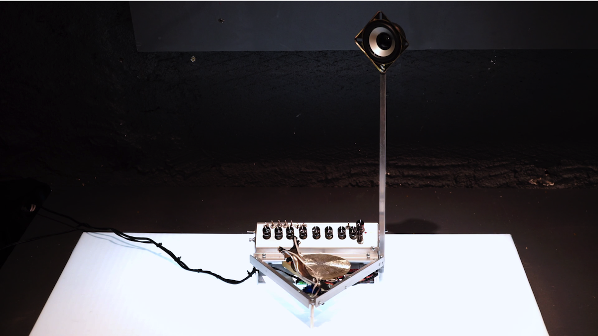 Listen to a 'CD' made from fool's gold, powered by a Raspberry Pi
