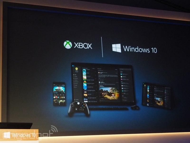 Xbox One y Windows 10 ahora juntos en la misma partida