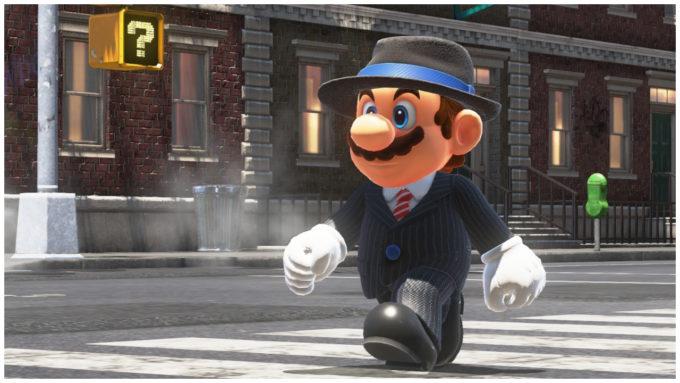 Super Mario Odyssey: Blockbuster mit Mario-Modenschau