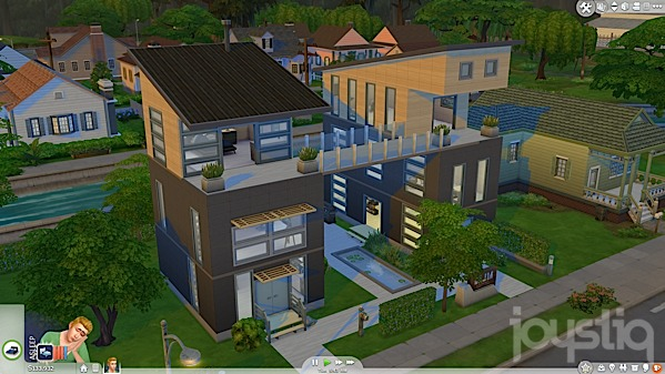 Coveting My Neighbors House In The Sims 4