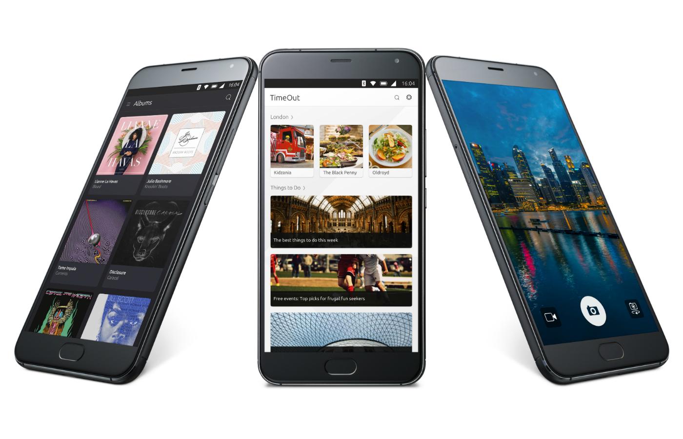 Meizu presenta el teléfono Ubuntu más potente del momento