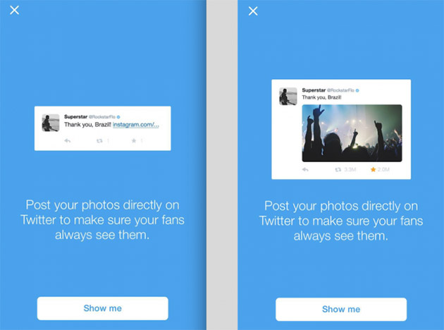 Twitter doesn't want its biggest users to post Instagram links