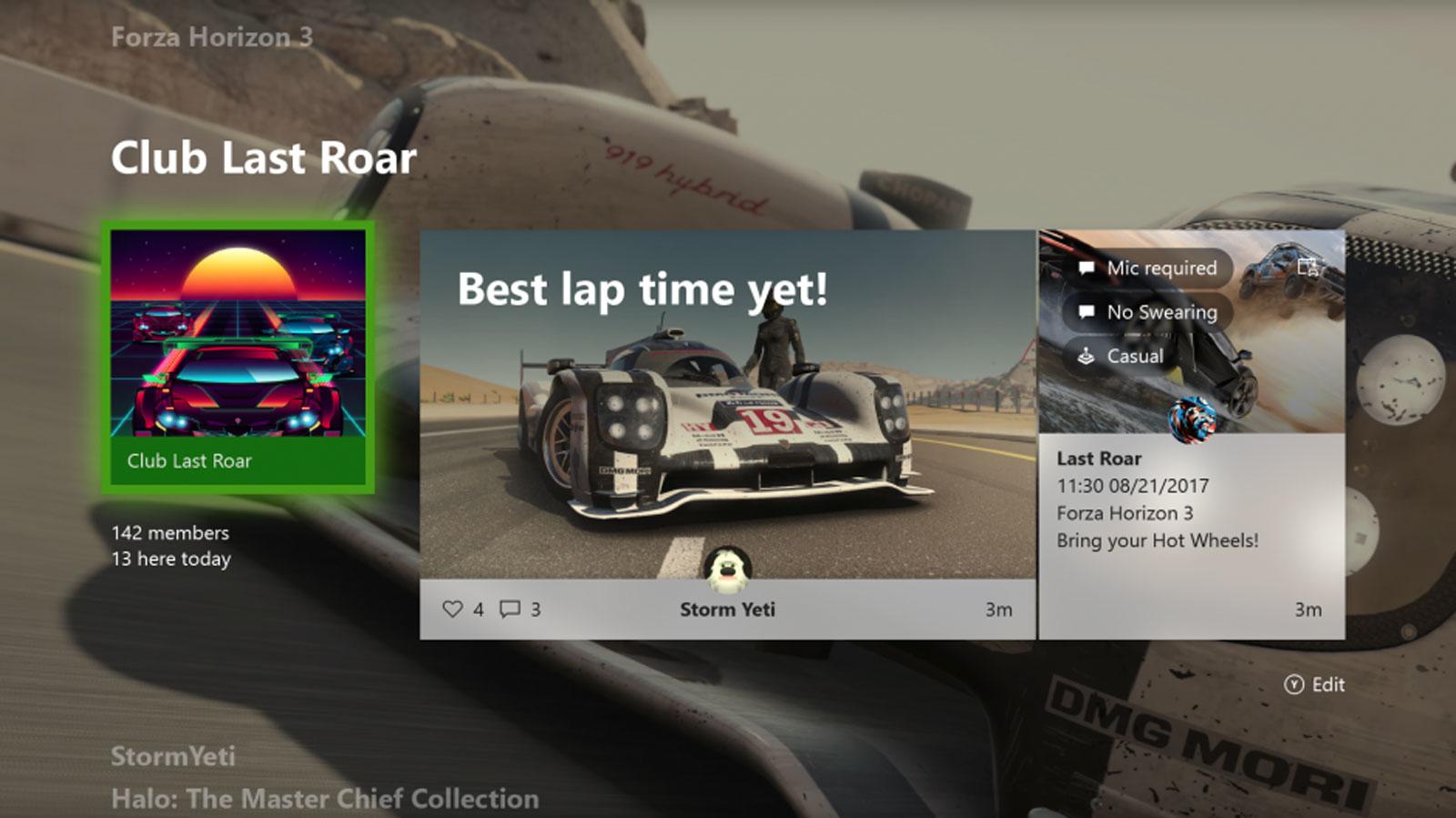 Xbox One también salvará la configuración de la consola en la nube