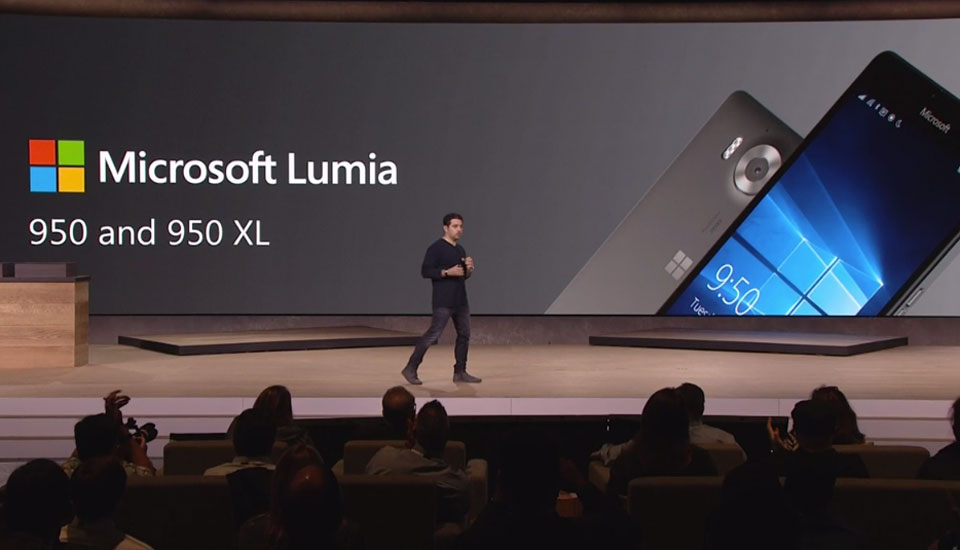 Meet the Lumia 950, Microsoft's first Windows 10 flagship