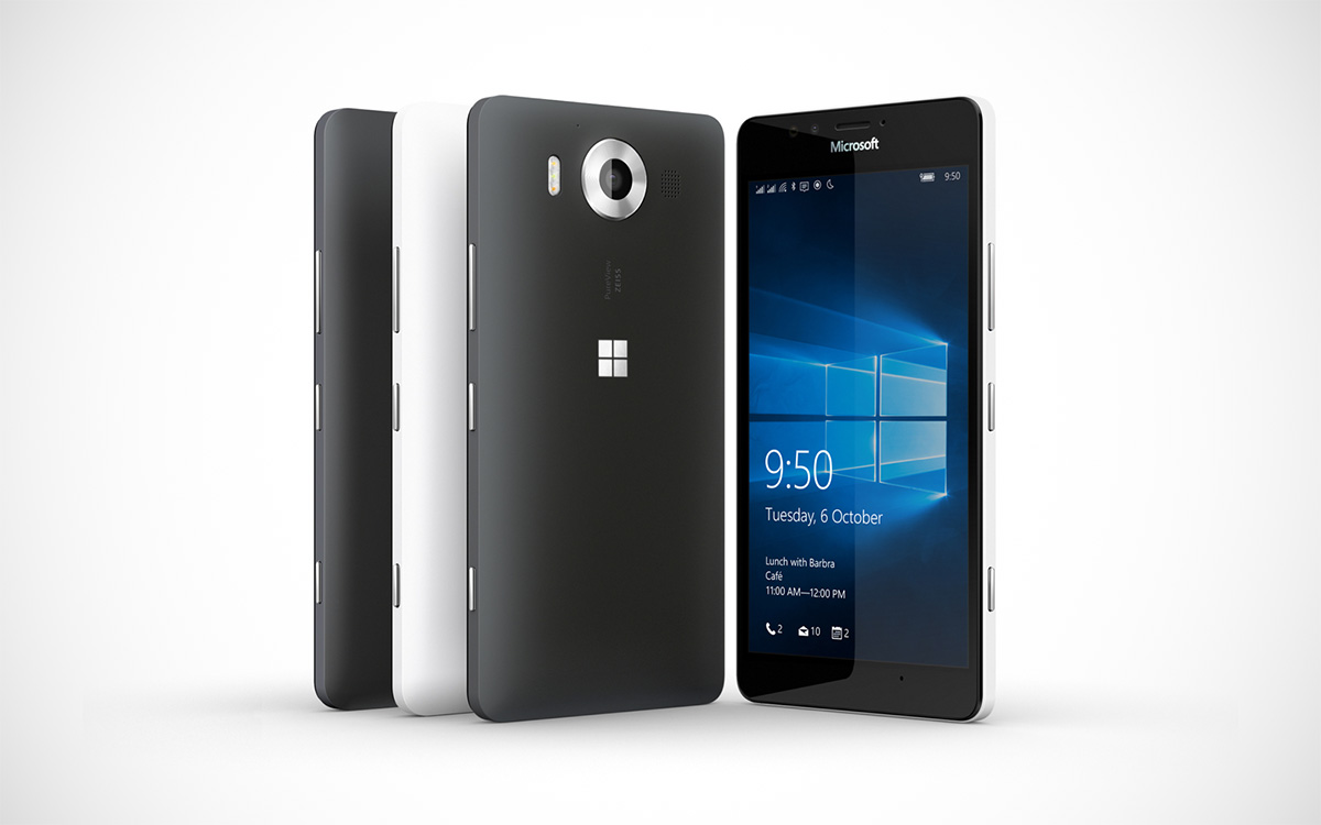 Microsoft's Lumia 950 is set for a November 20 launch on AT&T