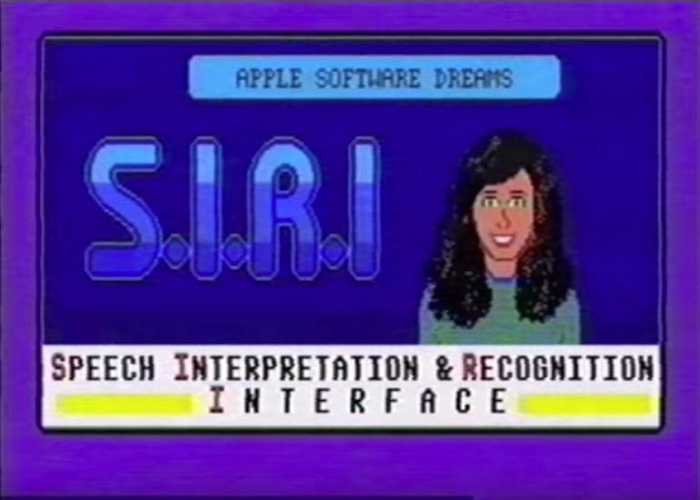 Wenn Siri in den 80ern existiert hätte