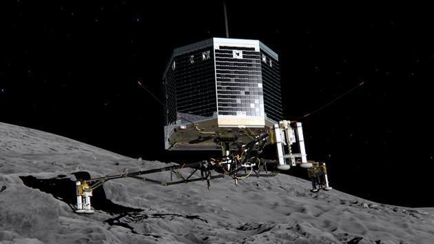 European Space Agency eyes potential landing sites for comet probe