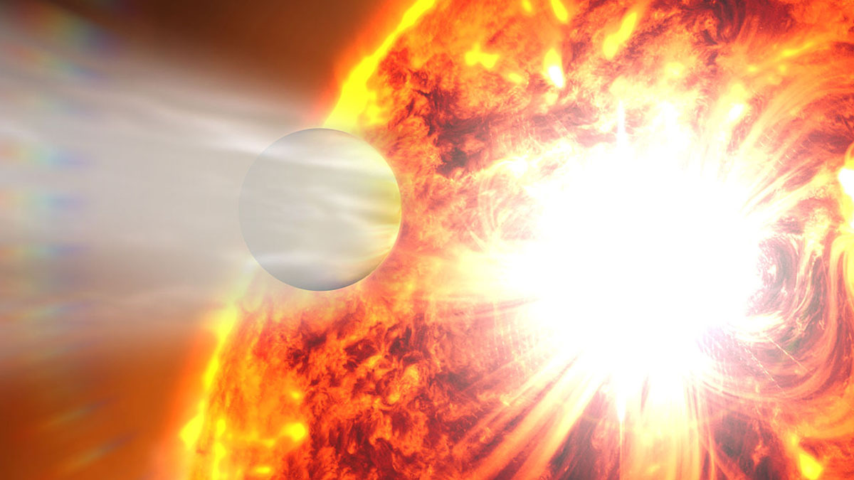 Scientists chart Mach 7 winds on a Jupiter-sized exoplanet