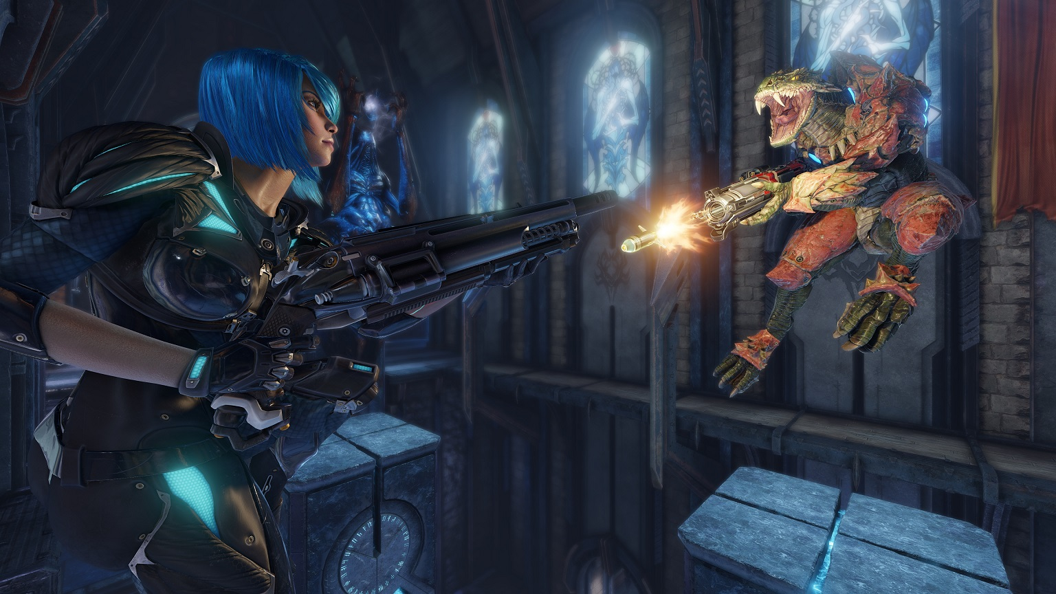 photo image 'Quake Champions' is free-to-play forever