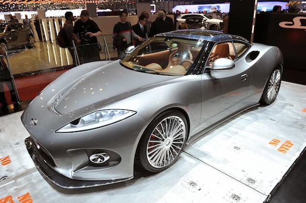 スパイカー、新作コンセプトカーをジュネーブ・モーターショーに出展!?