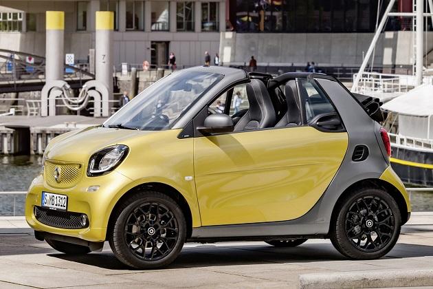スマートが、新型「フォーツー カブリオ」をフランクフルト・モーターショーに先駆けて発表!