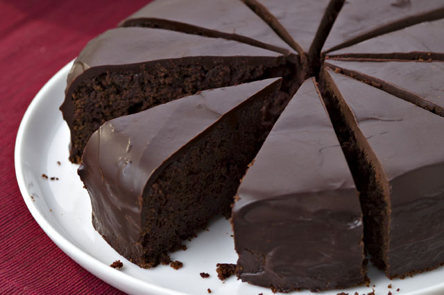 Chocolate & beetroot cake recipe