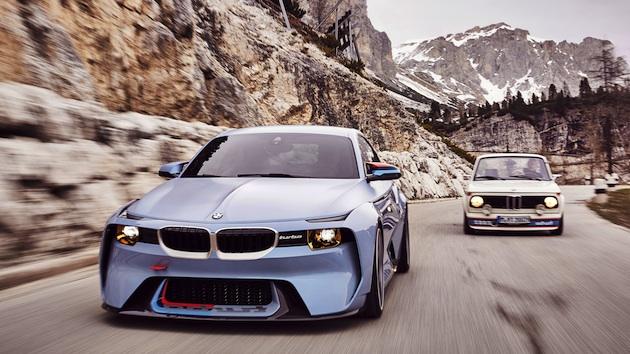 BMW、往年の名車を現代に甦らせたコンセプトカー「2002オマージュ」を公開